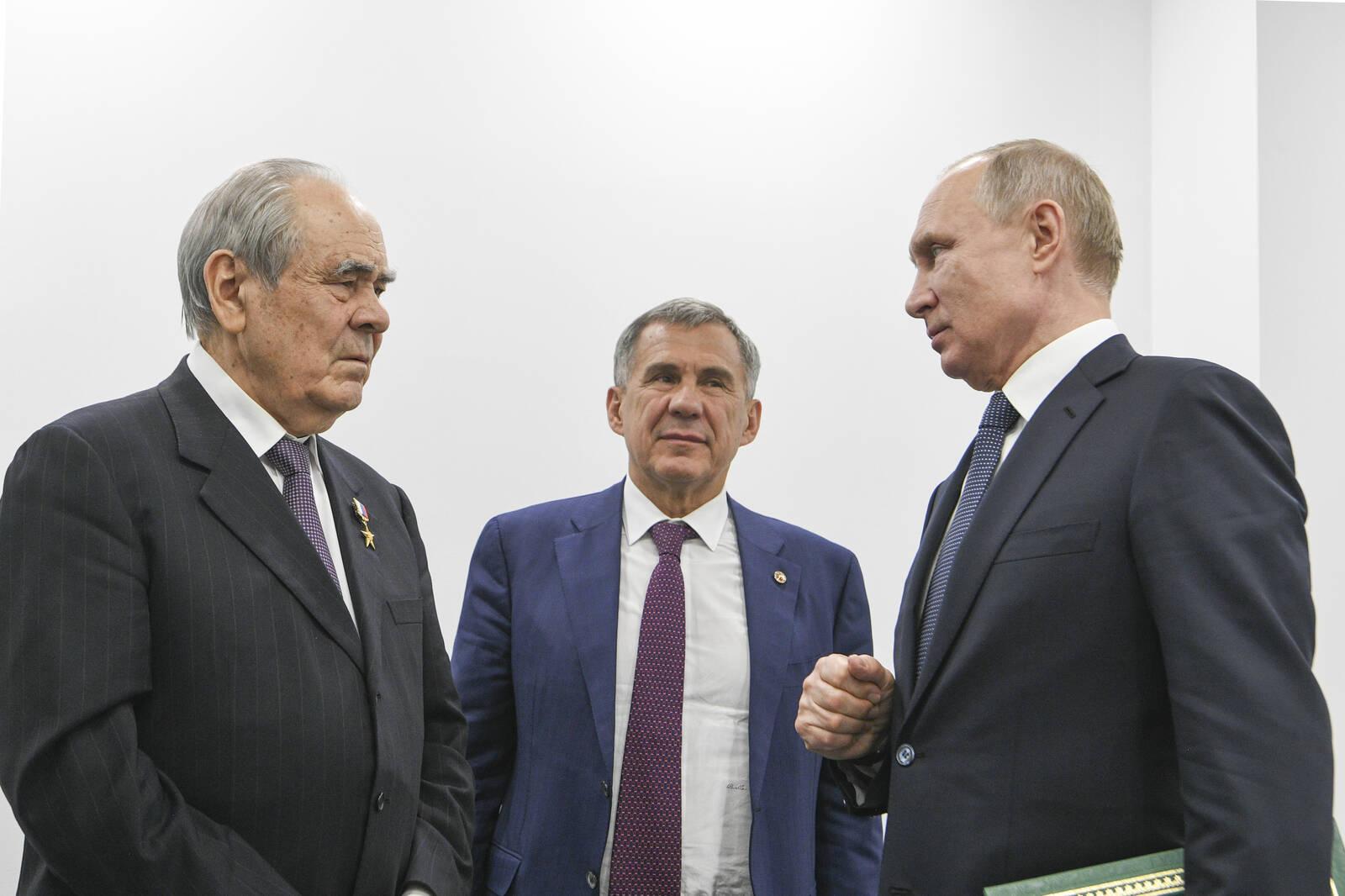 Шаймиев рассказал, как договаривался с Путиным о статусе Татарстана в составе РФ