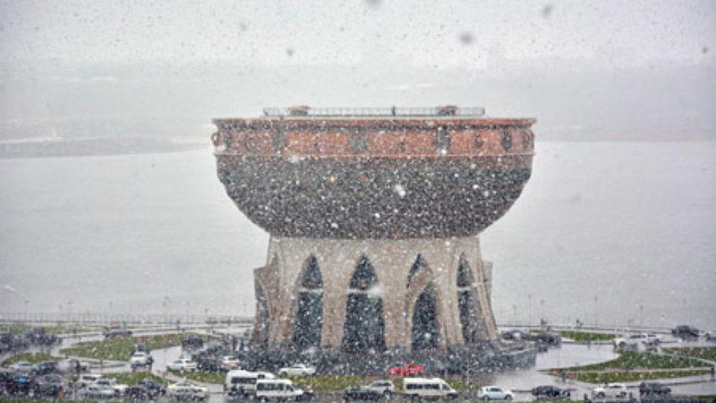 Снег в Татарстане не за горами