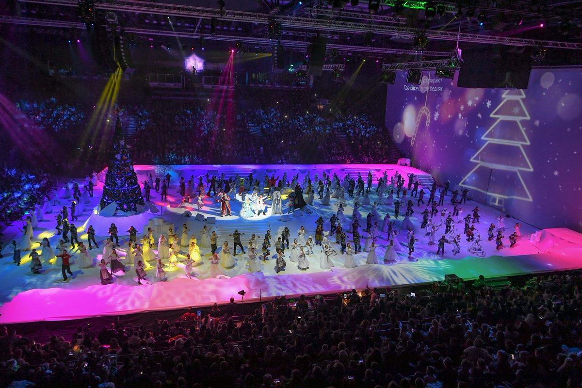 Авторский мюзикл на льду «Татнефть Арены» или Республиканская ёлка в Казани