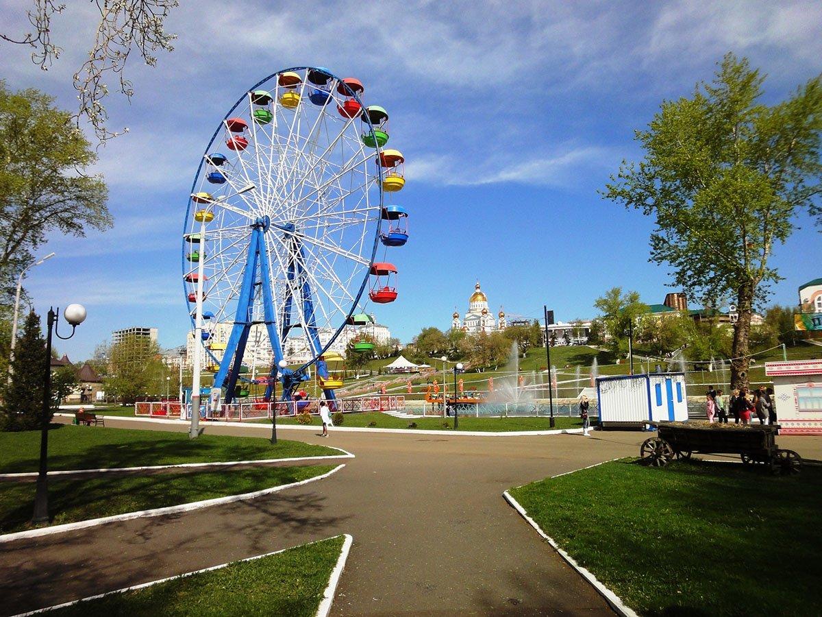 Парки Казани скоро перейдут на летний режим работы