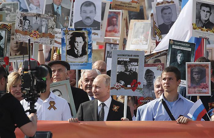 Путин официально заявил о переносе празднования Дня Победы