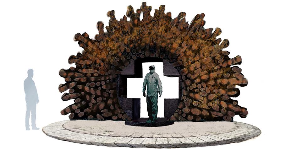 В Казани хотят установить памятник врачам