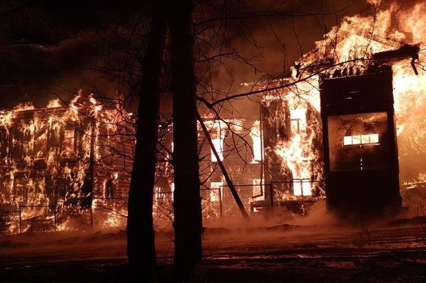 Пожар в Зеленодольской больнице, есть пострадавшие